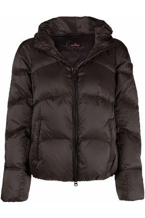 Peutery Women Puffer Jackets - Zipped padded jacket