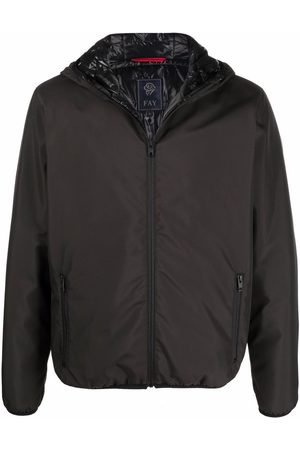 FAY Men Rainwear - Hooded rain jacket