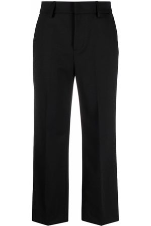 Dondup Straight leg cropped trousers