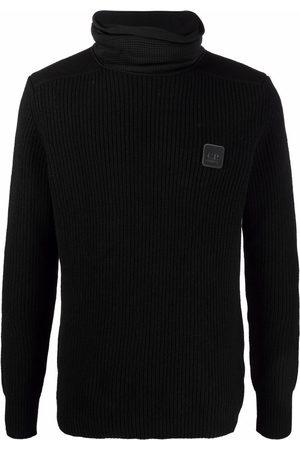 C.P. Company Logo-patch roll-neck jumper