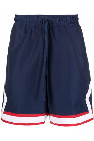 Nike Men Sports Shorts - Paris drawstring logo-patch shorts