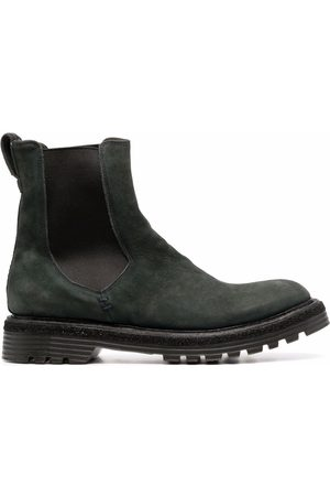Premiata Ridged suede ankle-boots