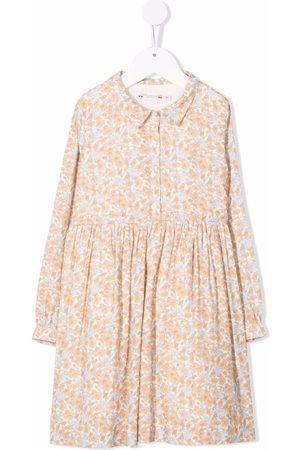 BONPOINT Floral print dress - Neutrals