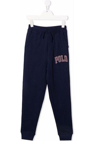 Ralph Lauren Embroidered-logo track pants