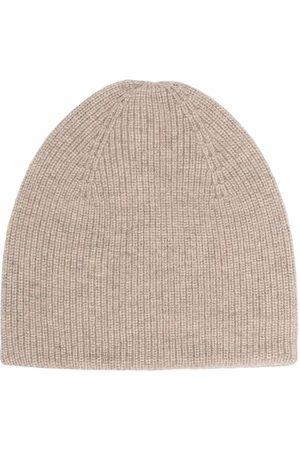 BONPOINT Ribbed-knit beanie - Neutrals