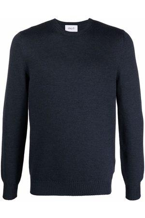 D4.0 Plain fine-knit jumper