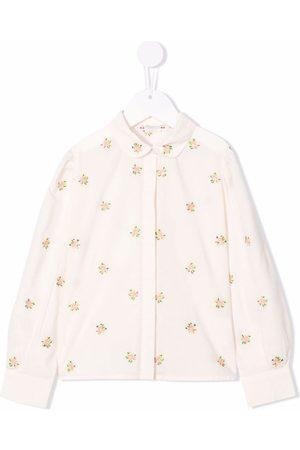 BONPOINT Girls Shirts - Floral print shirt