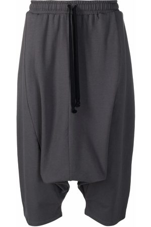 Alchemy Men Shorts - Drop-crotch drawstring shorts - Grey