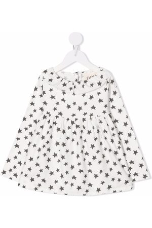 DOUUOD KIDS Girls Long sleeves - Star-print long-sleeve top