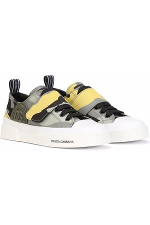 Dolce & Gabbana Camouflage low-top trainers - Grey