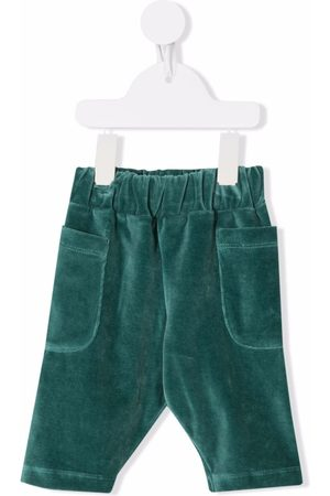 We Are Kids Sweatpants - Velvet-effect organic cotton track pants