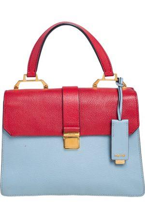 Miu Miu Madras leather handbag