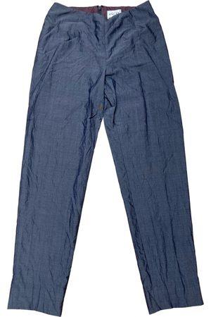 Oscar de la Renta Women Chinos - Wool chino pants