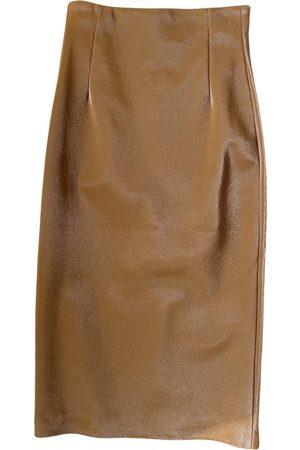 GAUGE81 Vegan leather maxi skirt