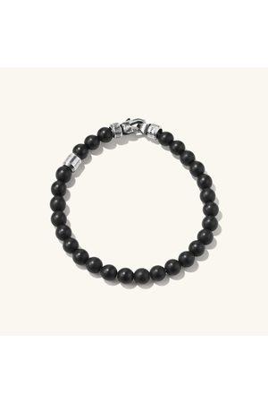 Mejuri Onyx Beaded Bracelet