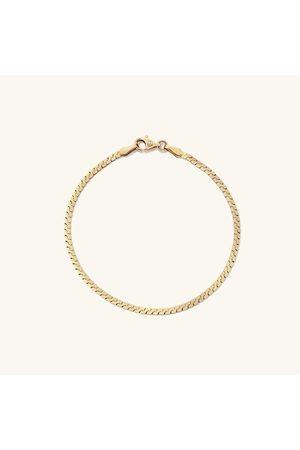 Mejuri Women Bracelets - Serpentine Chain Bracelet