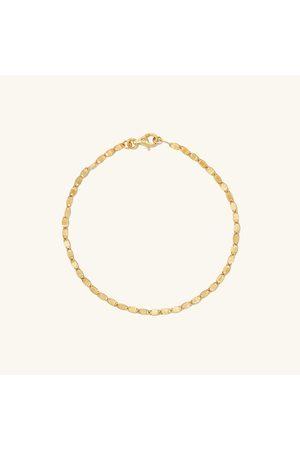 Mejuri Anchor Chain Bracelet