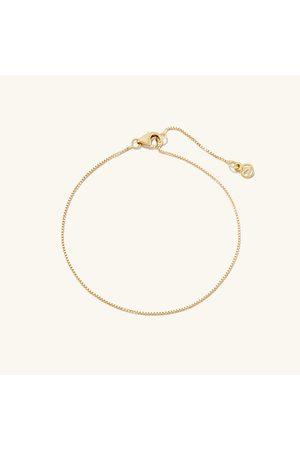 Mejuri Bracelets - Baby Box Chain Bracelet