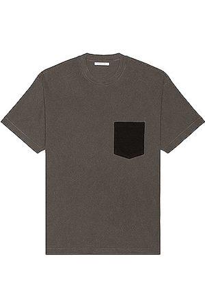JOHN ELLIOTT 1992 Pocket Tee in Grey