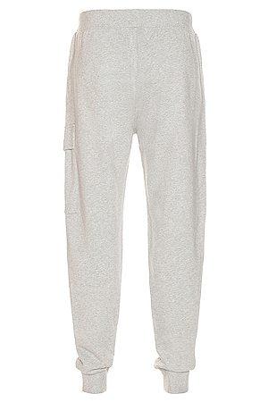 C.P. Company Fleece Sweatpants in Grey