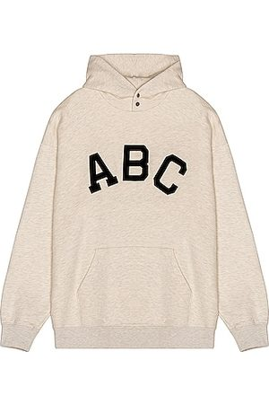 FEAR OF GOD ABC Hoodie in Neutral