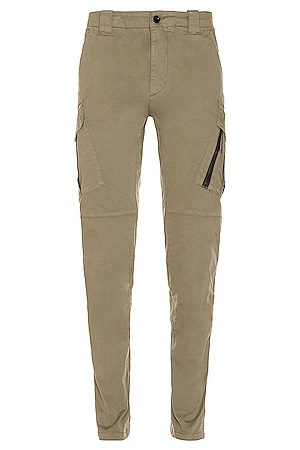 C.P. Company Men Cargo Pants - Tapered Pants in Olive