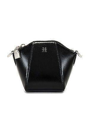Givenchy Men Wallets - Antigona Mini Purse Strap in