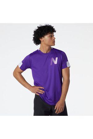 New Balance Men's Printed Fast Flight Short Sleeve