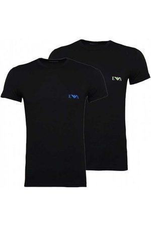Armani Crow Short Sleeve T-shirt 2 Pack L