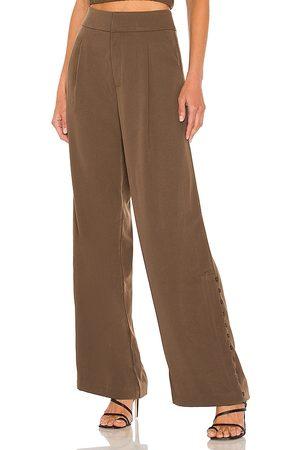 LINE & DOT Women Formal Pants - Berlin Button Slit Trouser in .