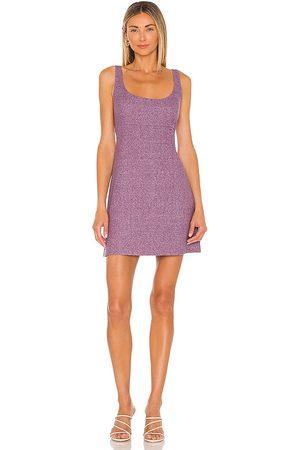 Amanda Uprichard Cookie Dress in Purple.