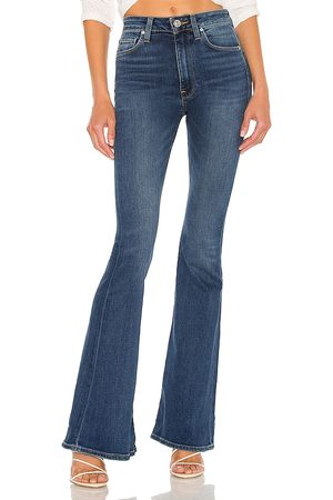 Hudson Women High Waisted - Holly High Rise Flare in Blue.