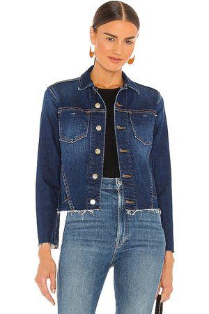 L'Agence Janelle Slim Jacket in Blue.