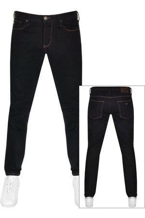 Armani Men Slim - Emporio J06 Slim Fit Jeans Navy