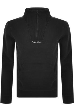 Calvin Klein Men Sweatshirts - Half Zip Detail Sweatshirt