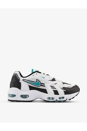 Nike Men Sneakers - Air Max 96 II leather, suede and mesh low-top trainers