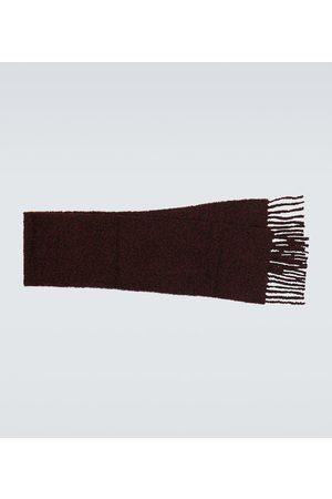 Acne Studios Alpaca-blend bouclé scarf