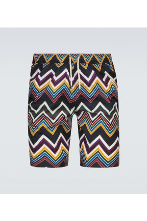 Missoni Mare printed swim shorts