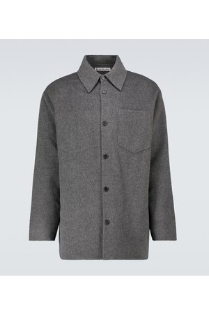 Acne Studios Double-faced wool overshirt