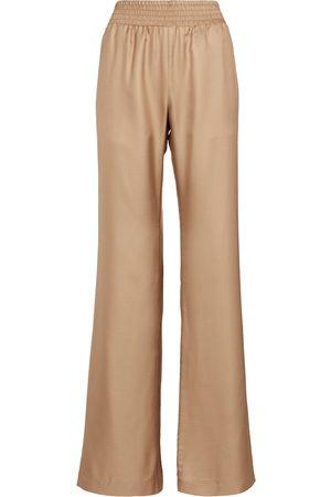 GABRIELA HEARST Women Wide Leg Pants - Themis wide-leg silk pants