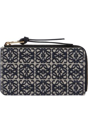 Loewe Anagram jacquard coin and card holder