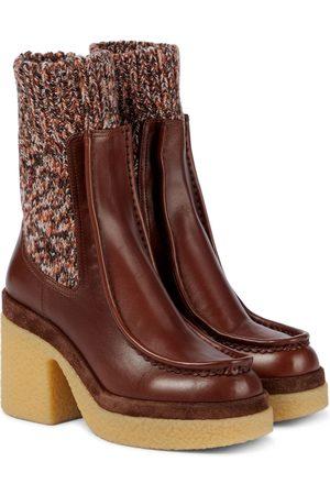 Chloé Jamie leather Chelsea boots