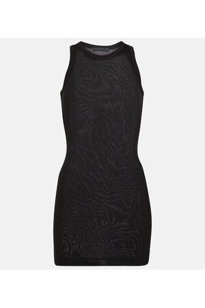 WARDROBE.NYC Cotton jersey minidress