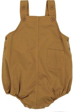 Caramel Bodysuits & All-In-Ones - Baby Flury cotton twill bodysuit