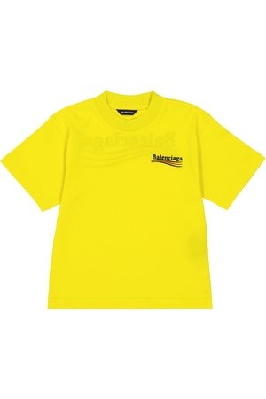 Balenciaga T-shirts - Logo cotton T-shirt