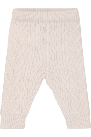 Louise Misha Baby Athedor cable-knit leggings
