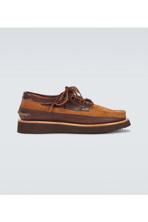 YUKETEN Wingtip Ghillie Moc DB shoes