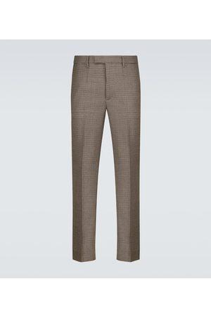 BARENA Men Formal Pants - Capovae Zatara wool houndstooth pants