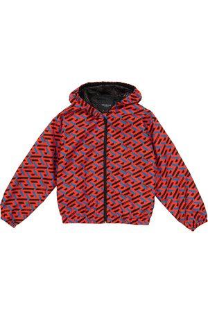VERSACE La Greca windbreaker jacket