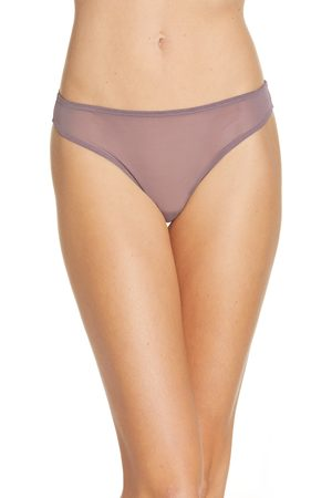 SKIMS Women's Mesh Built Up Thong
